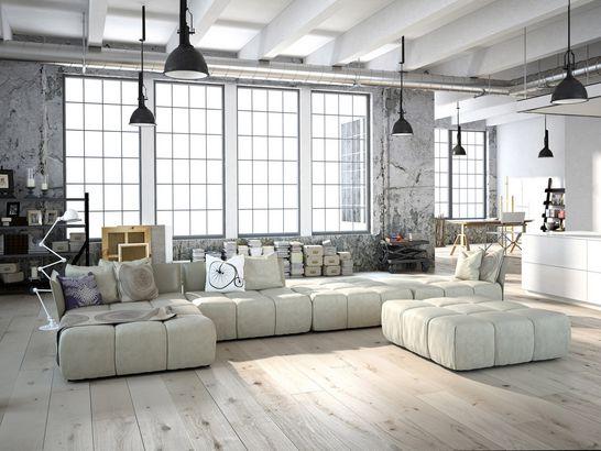 Loft Wohnung - Wohndesign