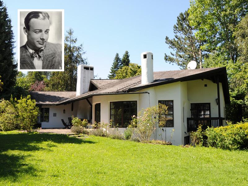 Die letzte Residenz von Heinz Rühmann - Bellevue