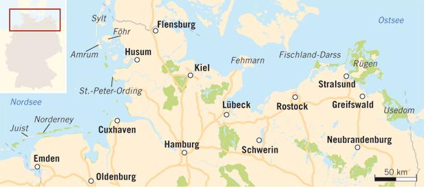 Wie Viele Inseln Hat Deutschland